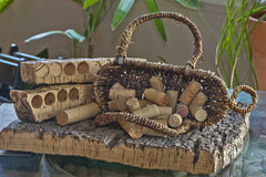 Free Corks At The Winery Stock Images - 45749964