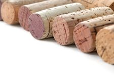 Corks background Stock Photography