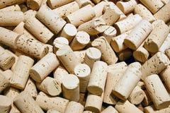 Corks background Stock Images
