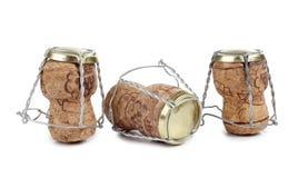 Corks champagne Stock Photo