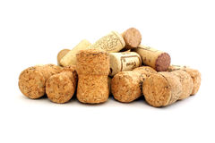 Corks from champagne and wine Stock Photography