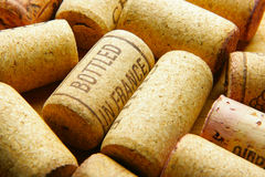 Corks close-up Stock Photography
