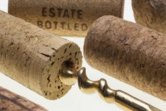 Corks and Corkscrew Stock Photos