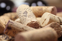 Corks on a heap Royalty Free Stock Photos