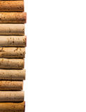 Corks on the left side Stock Photo