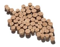 Corks in shape of grape Royalty Free Stock Images
