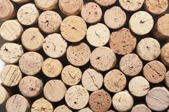 Corks texture Stock Photos