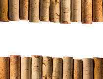 Corks on the top and bottom Royalty Free Stock Image