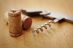 Corkscrew Royalty Free Stock Photo