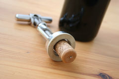 Corkscrew Royalty Free Stock Images