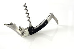 Corkscrew bottle opener Royalty Free Stock Photo