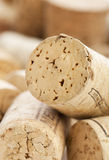 Corkscrew & bottle of wine Royalty Free Stock Photography