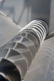 Corkscrew Conveyor Royalty Free Stock Images