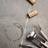 Corkscrew corks Royalty Free Stock Photo