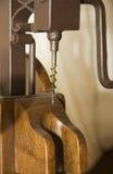 corkscrew drewniany Zdjęcie Stock