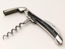 Corkscrew, faca do empregado de mesa Foto de Stock