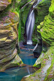 Corkscrew Falls in Ohio Stock Image
