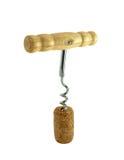 Corkscrew in gap Royalty Free Stock Photo