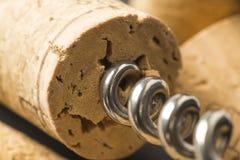Corkscrew Fotografia Stock
