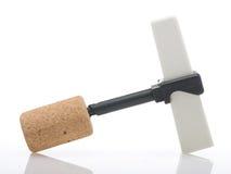 Corkscrew isolated Stock Photos