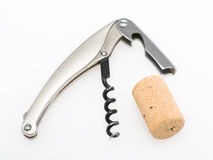 Corkscrew isolated Stock Photo