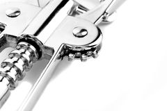 Corkscrew mechanism detail Stock Photography