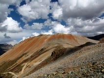 Corkscrew Pass Colorado. Red Mountain #1 as seen from the ridgeline near Corkscrew Pass Royalty Free Stock Photography