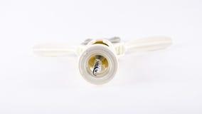 Corkscrew wina butelki otwieracza narzędzie Obrazy Royalty Free