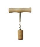 Corkscrew for wine. Stock Photo