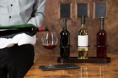 Corksrew для бутылки вина на крыше Стоковая Фотография