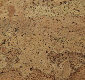 Corkwood background. Surface of a corkwood tile closeup texture Royalty Free Stock Image