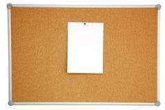 Corkwoodanschlagtafel Stockbild