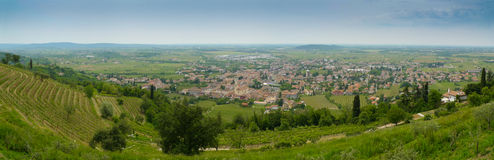 Cormons panorama Royalty Free Stock Image