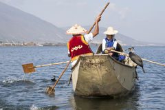 Cormorant Fishing in China Royalty Free Stock Images
