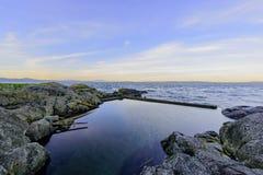 Cormorant point Victoria bc Stock Photo