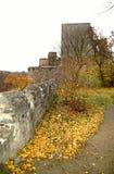 Cornštejn Castel, Моравия, Чешская Республика Стоковая Фотография RF