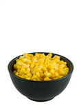 Corn. Marinated corn on the white Royalty Free Stock Photography