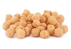 Corn balls snack on white Stock Photos