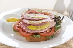 Corn Beef Sandwich Stock Images