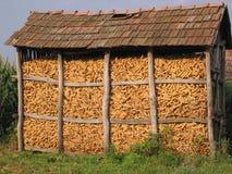 Corn bin Stock Image