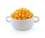 Corn in bowl Stock Photography