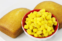 Corn bread Royalty Free Stock Photo