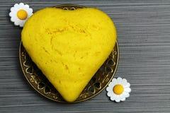 Corn bread cake Stock Photo