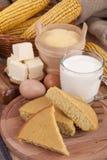 Corn bread Stock Image