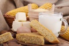 Corn bread Royalty Free Stock Photography
