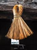 Corn Broom Stock Image