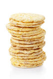 Corn cakes stack Stock Image