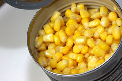 Corn in a Can Stock Images