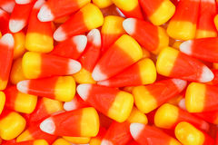 Corn candy. Colored sweet corn candy background Stock Photography