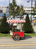 corn cart,Istanbul, Turkey. Stock Photography